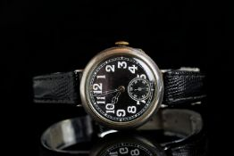 VERY RARE EARLY SILVER STAUFFER AND CO WATCH,from 1894 they started to buy watches and movements