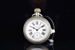VINTAGE WEST END WATCH CO POCKET WATCH, circular w