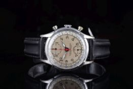 GENTLEMENS PIERCE CHRONOGRAPH WRISTWATCH, circular