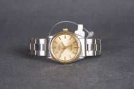 GENTLEMENS ROLEX X LINZ OYSTER PERPETUAL 'TWIN SIGNED' WRISTWATCH REF. 1002 CIRCA 1964/65,