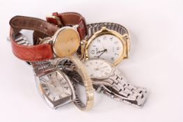 *TO BE SOLD WITHOUT RESERVE* A big group of watches (6) including Police and Sekonda and Seiko