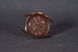 ***TO BE SOLD WITHOUT RESERVE*** GENTLEMENS EMPORIO ARMANI CERAMICA CHRONOGRAPH WRISTWATCH, circular