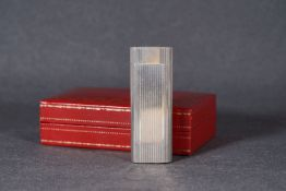 CARTIER LIGHTER W/ BOX, engine turned cartier lighter, item number 337272V, comes with box,