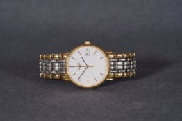 ***TO BE SOLD WITHOUT RESERVE*** GENTLEMENS LONGINES DATE WRISTWATCH, circular white dial with