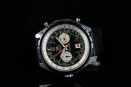 GENTS BREITLING NAVITIMER DDE BR 1152-67,round,black and white dial with illuminated hands,white