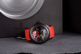 GENTLEMENS NOS CORUM BUBBLE PIRATE LTD EDITION 013/188 WRISTWATCH W/ BOX & PAPERS REF. 082.310.98,