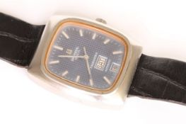GENTLEMEN'S VINTAGE UNIVERSAL POLEROUTER III AUTOMATIC REFERENCE 872111, rectangular cushion dial,