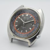 *TO BE SOLD WITHOUT RESERVE* GENTLEMAN'S SEIKO WORLD TIME AUTOMATIC, PROJECT WATCH, 6117-6400,