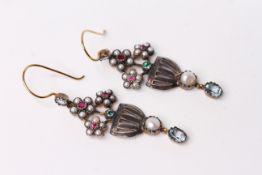 Pair of Chandelier Style Earrings