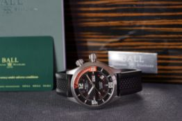 GENTLEMENS BALL AUTOMATIC DAY DATE CHRONOGRAPH WRISTWATCH W/ BOX & PAPERS REF. 7811931, circular