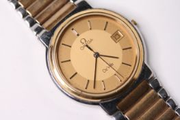 LADIES GOLD PLATED OMEGA WRISTWATCH