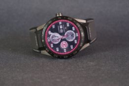 GENTLEMENS TAG HEUER X INTEL CONNECTED B WRISTWATCH W/ BOX & CHARGING EQUIPTMENT REF. SAR8A80,
