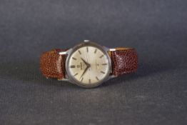 GENTLEMENS OMEGA AUTOMATIC CRONOMETRE CONSTELLATION WRISTWATCH REF. 167005, circular patina sector