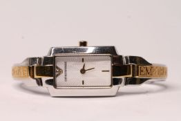 *TO BE SOLD WITHOUT RESERVE* LADIES EMPORIO ARMANI