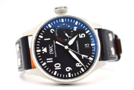 GENTLEMAN'S IWC BIG PILOT, 7 DAYS POWER RESERVE IW500912, AUTOMATIC IWC CAL. 51111, DECEMBER 2017,