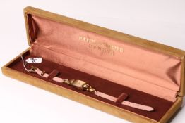 RARE 1948 LADIES PATEK PHILIPPE 18CT COCKTAIL WATCH WITH BOX AND ARCHIVE PAPERWORK REFERENCE 2210,