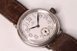 RARE OMEGA WW1 TRENCH WATCH