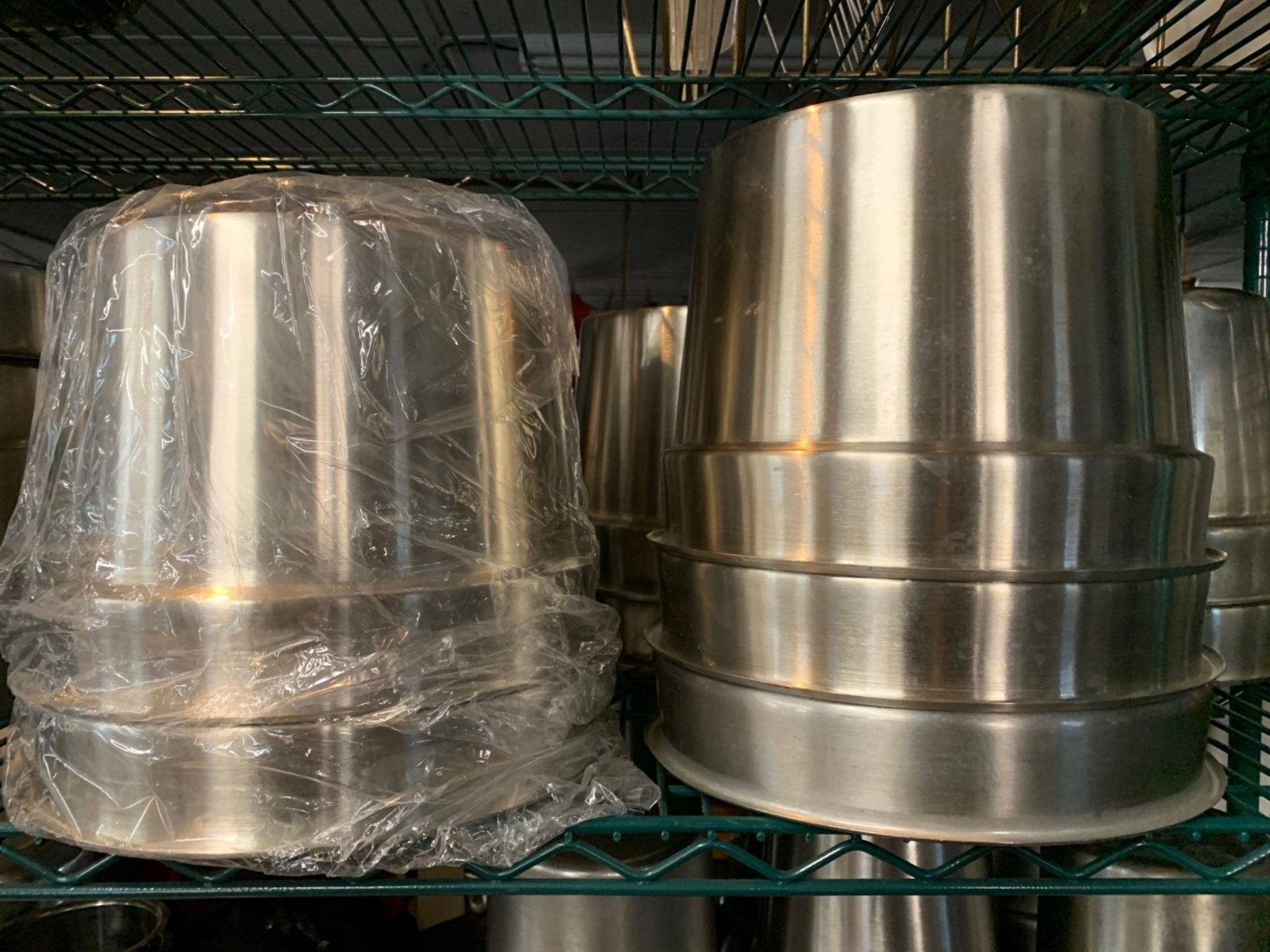 Lot 1469 - Stainless Steel Steam Table Inserts