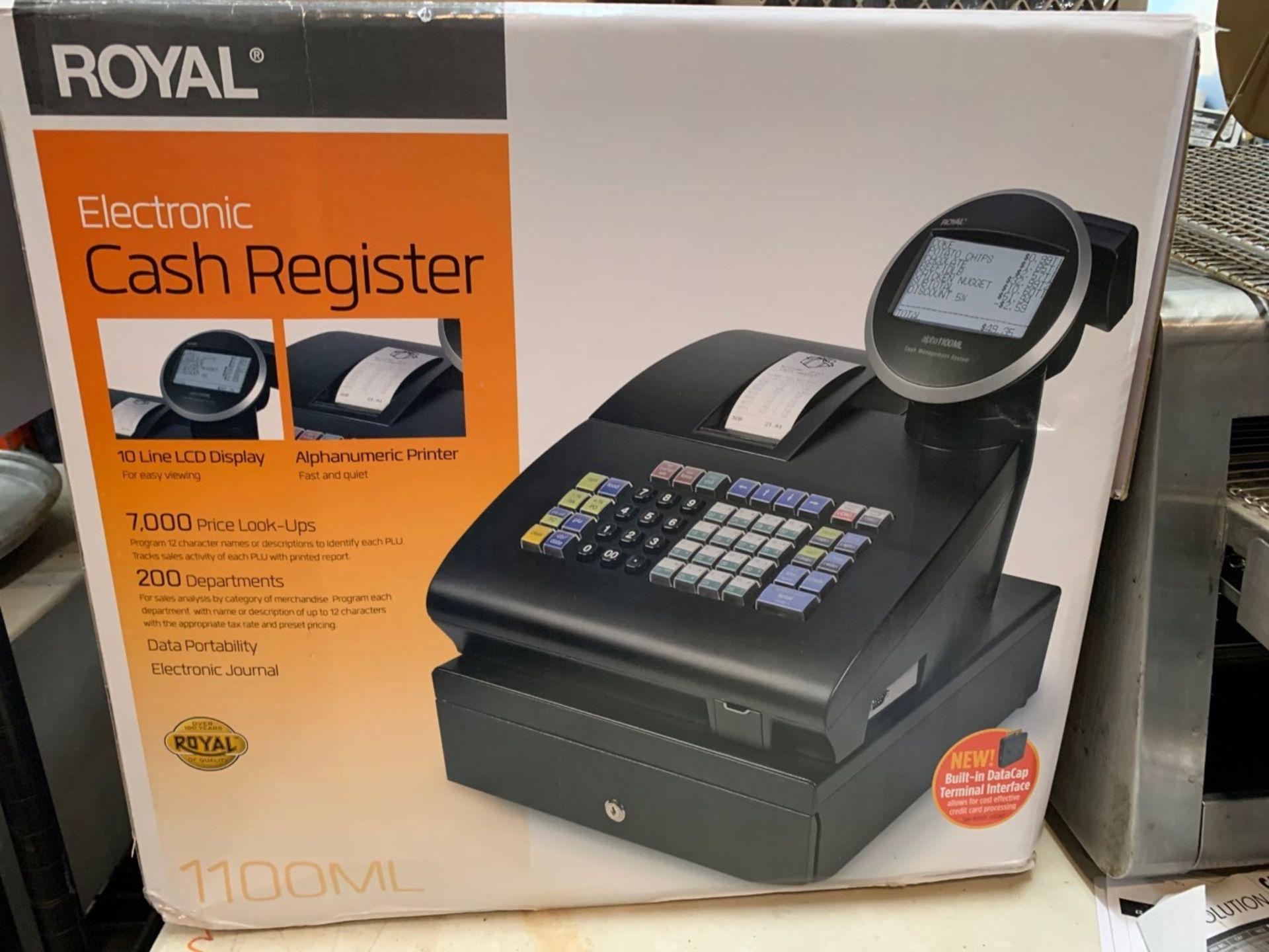 Lot 1459 - Royal Electronic Cash Register Model 1100ML
