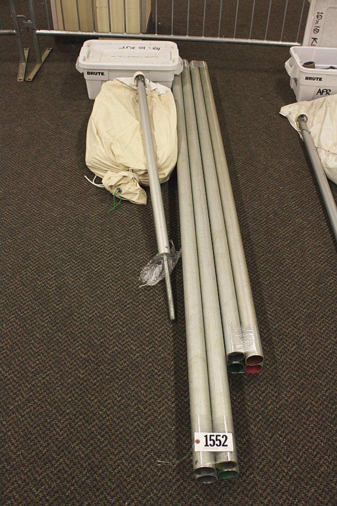 Lot 1552 - Tentnology Tent 10x10 (missing parts)