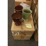 "Pottery Vase 5"" multi color PVR162-05"
