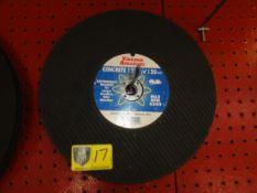 "VA Abrasives 12"" Concrete Blades"