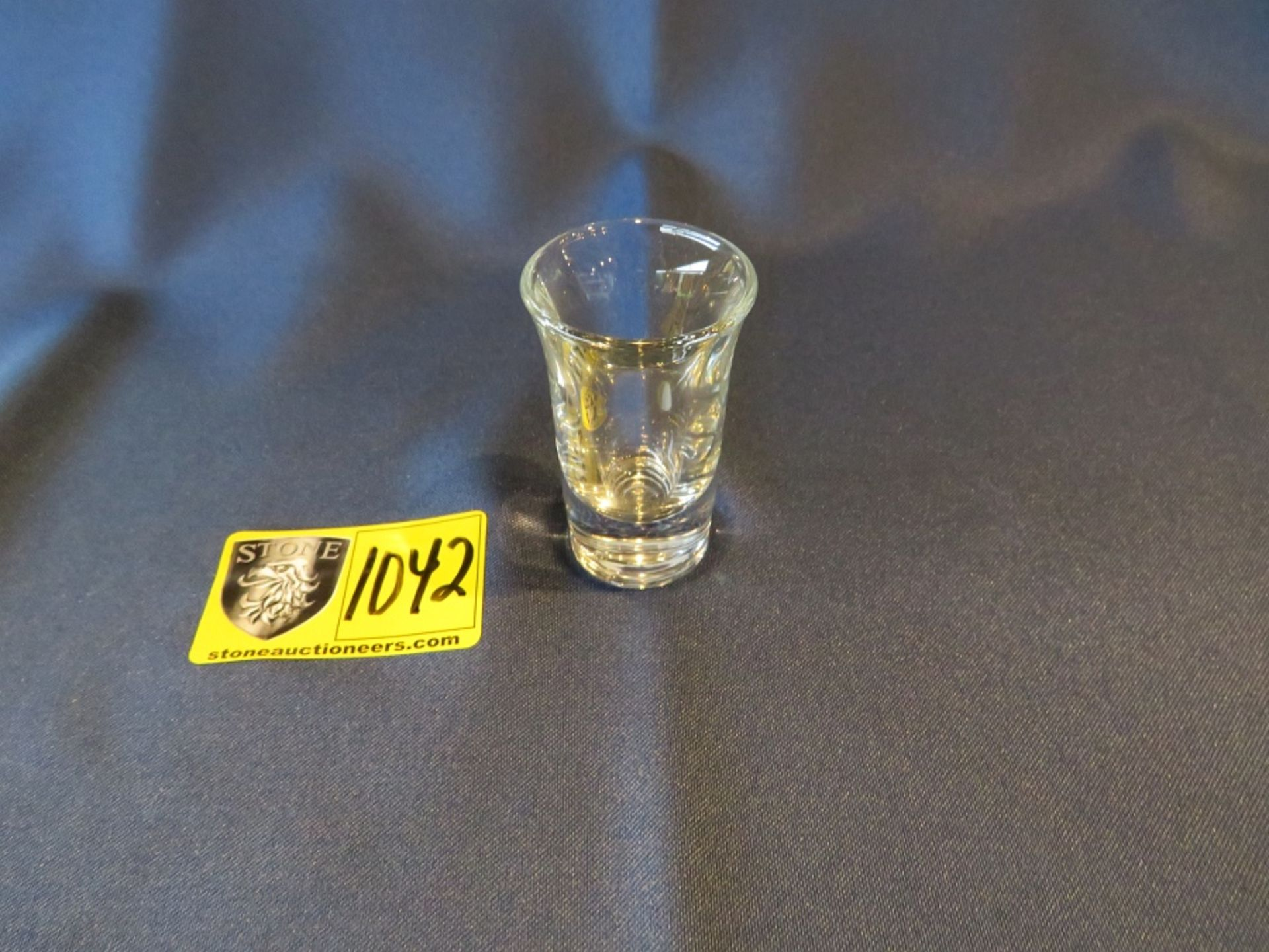 Lot 1042 - SHOT GLASS 2.5OZ.
