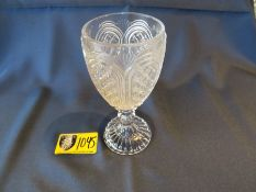 WATER GOBLET CAROUSEL GLASS ( Approx. 250 NEW in box)