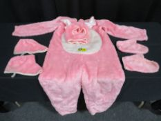 Open Faced - Bunny Costume - Pink