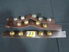 Santa Sleigh Bells - Strap Style