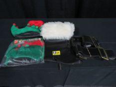 Misc Santa: boot covers, belts & elf shoes