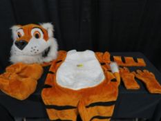 Mascot Style Tiger Costume - Toby the Friendly Tiger Costumes