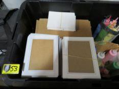 """Spin Art 5"""" x 7"""" Cards & Frames - Packs of 25"""