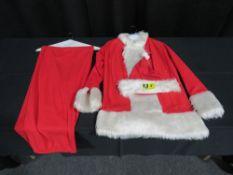 Santa Costume - Economy