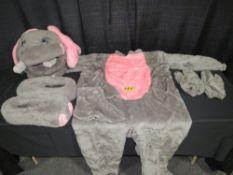 Mascot Style Elephant Costume - Tiny the Party Elephant Costumes