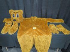 Mascot Style Bear Costume - Barnabus T. Bear Costumes