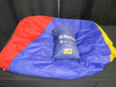 Parachute - 12' Diameter, Multicolored with Handles