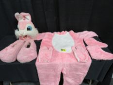 Mascot Style Bunny Costume - Pink Costumes