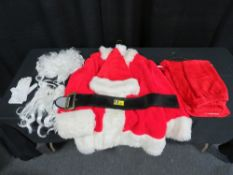 Santa Costume - Deluxe Large 42-48