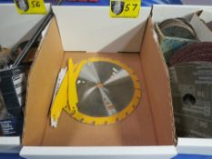 Lot of NEW Saw Blades