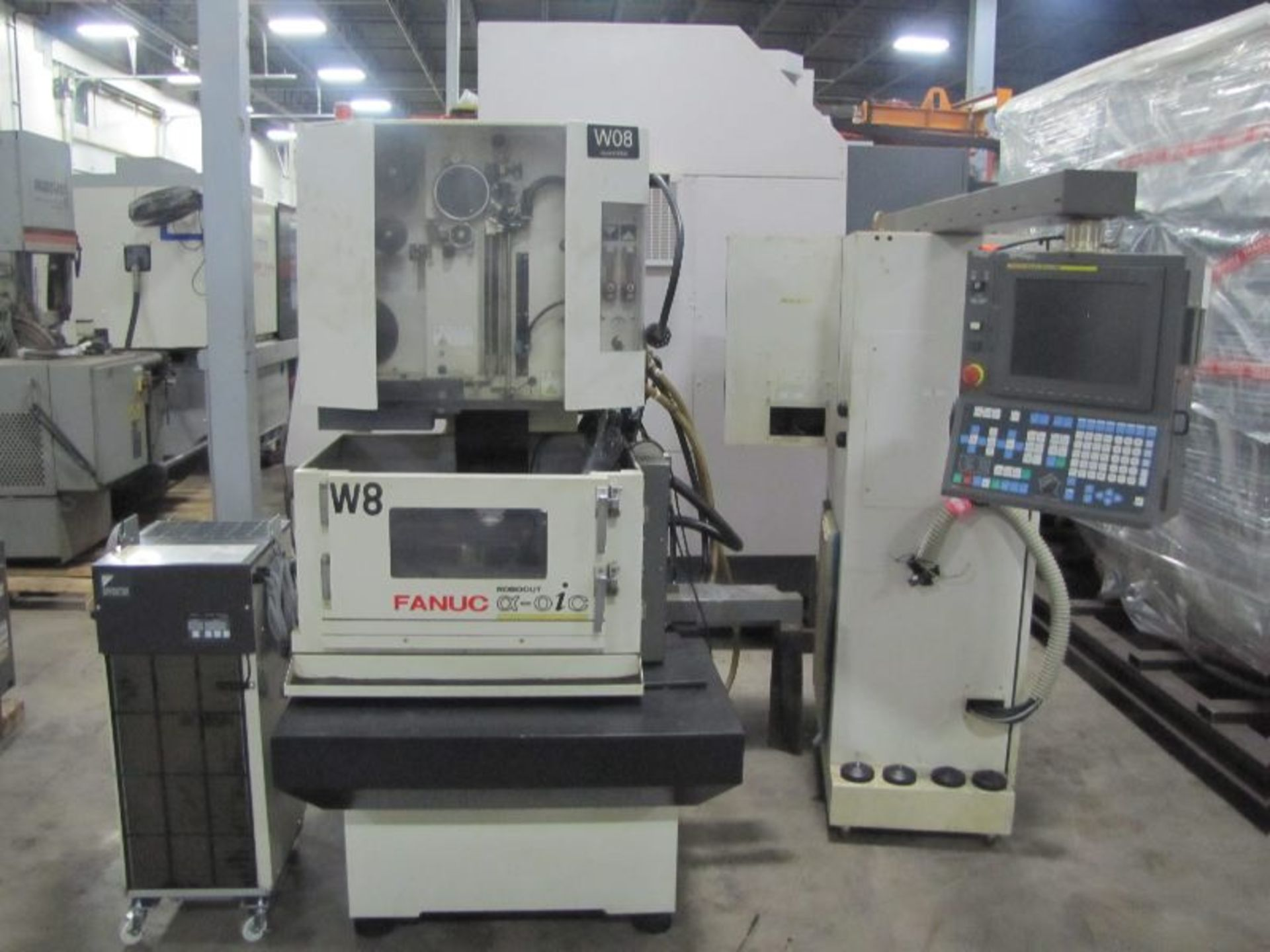 Lot 45 - 2005 Fanuc Wire EDM Model OiC Robocut with Fanuc Series 180iS-WB Control