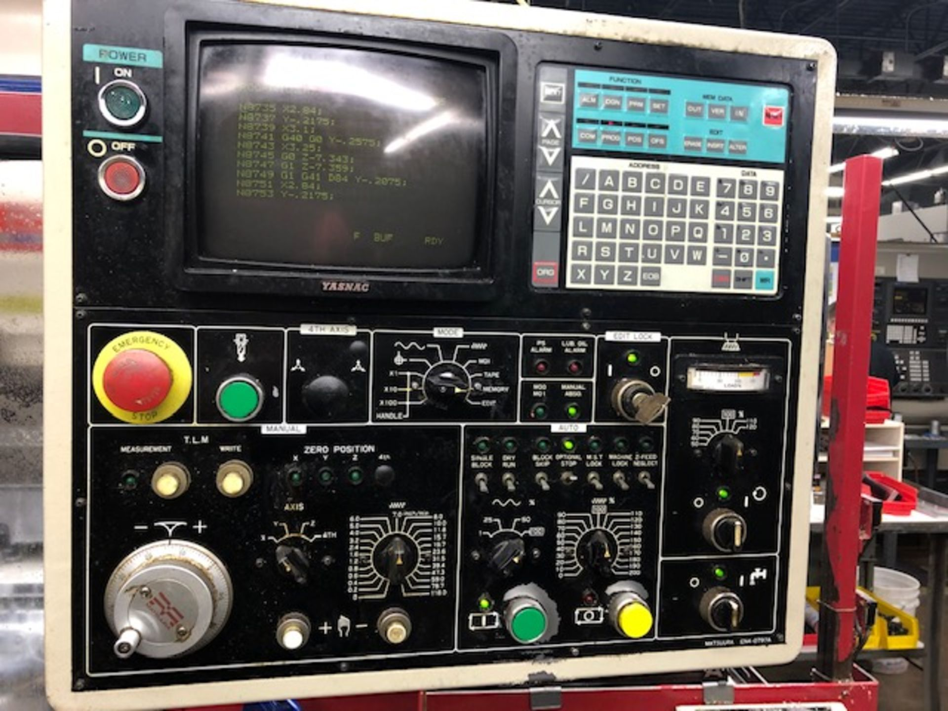 Lot 12 - Matsuura Model RA-1 Vertical Machining Center