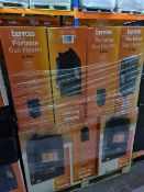 PALLET OF 12 x NEW BOXED BENROSS 4.1KW PORTABLE GAS HEATERS