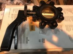 50 X WRAS GEM BUTTERFLY VALVES ( PLEASE NOTE PICK UP FOR THESE ITEMS IS AT HOLME FARM BUNGALOWS,