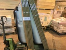PALLET CONTAINING 9 X STL BATHS SIZE 1700 X 700 X 390 ( PLEASE NOTE PICK UP FOR THESE ITEMS IS AT