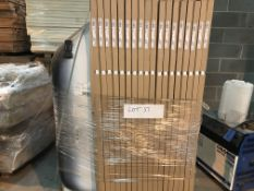PALLET CONTAINING 18 X SANIFORM BATHS SIZE 1700 X 750 X 410 ( PLEASE NOTE PICK UP FOR THESE ITEMS IS