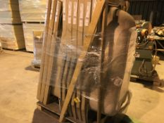 PALLET CONTAINING 9 X VARIOUS BATHS ( PLEASE NOTE PICK UP FOR THESE ITEMS IS AT HOLME FARM
