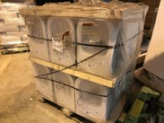 PALLET CONTAINING 18 X PLAYA J4685 WALL HUNG TOILET PANS ( PLEASE NOTE PICK UP FOR THESE ITEMS IS AT