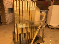 PALLET CONTAINING 9 X ALTO BATHS SIZE 170 X 80 AND A AVONMORE RADIATOR ( PLEASE NOTE PICK UP FOR