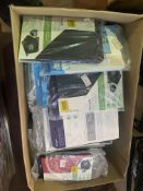 70 X ASSORTED TABLET CASES IE SURFACE, KINDLE, LEMOVO, IPAD